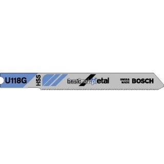 BOSCH Brzeszczot do metalu Basic for Metal U 118 G