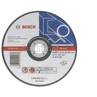 BOSCH Tarcza tn±ca, prosta, do metalu ¶rednica 125 mm, grubo¶æ 2,5 mm