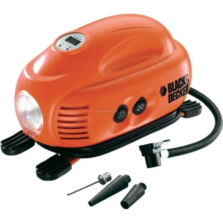 BLACK&DECKER Wileofunkcyjny kompresor 12 V / 8,3 Bar ASI200