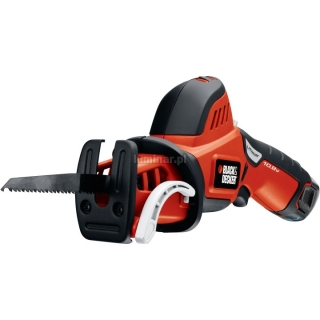 BLACK&DECKER Kompaktowa pilarka do ga³êzi 10.8V (1 akumulator 1,3 Ah)