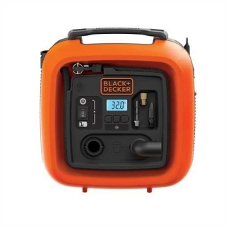 BLACK&DECKER Przeno¶ny kompresor 230 V/12 V; 11 Bar ASI400