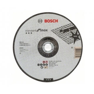 BOSCH Tarcza  tn±ca korundowa 230x1,9mm Standard for INOX